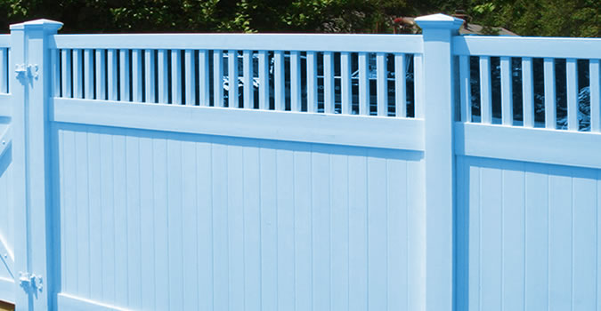 Painting on fences decks exterior painting in general Kenosha